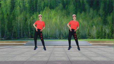 点击观看《蓝天云摆跨64步舞蹈视频《爱火》》