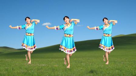 点击观看《阿采零基础藏舞蹈视频拉萨夜雨 轻松简单好学》