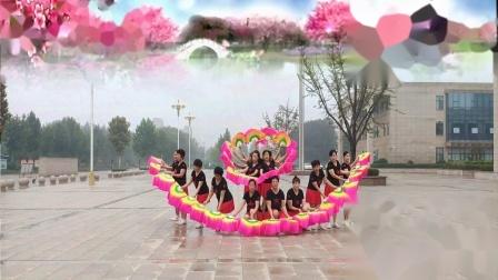 好心情蓝蓝广场舞教学视频大全 附16人变队形舞吉祥中国年