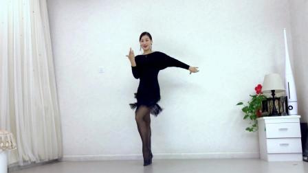 简单易学恰恰舞视频 青青世界舞蹈妹妹的眼睛水汪汪