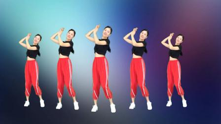 新生代广场舞《因为你》网红流行歌曲 简单32步!