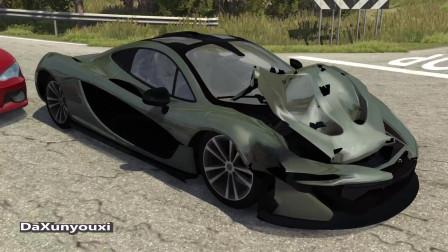 车祸模拟器:如果在现实中这样开车,砸锅卖铁都不够赔偿的吧?