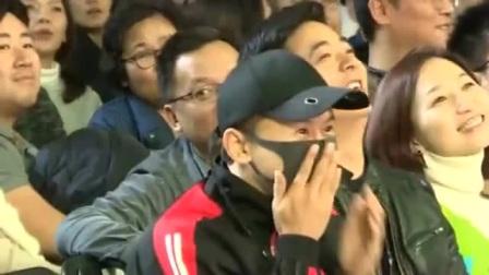 岳云鹏说张杰就坐台下,观众开始尖叫!小岳岳开始吃醋了