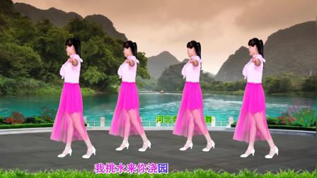 点击观看《2019戏曲健身舞《新天仙配》 附河北青青广场舞16步教程》
