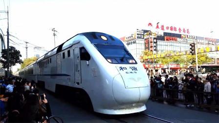 北京有条商业街曾被火车一分为二,高铁穿街而过,如今已成往事