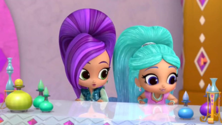 萌萌哒萨米拉和席塔小时候 好可爱!亮亮和晶晶大发好运PK10