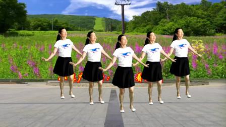 点击观看《小慧广场舞32步教学《回头看看我》 看一遍就学会》