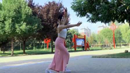 青青世界广场舞视频《醉人的花香》 唯美形体中三舞步
