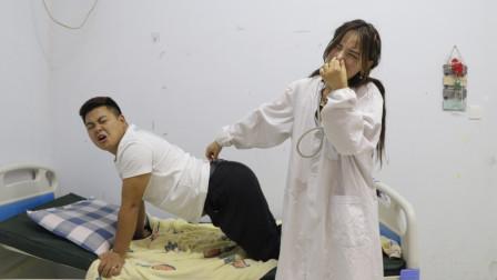 小伙去医院割痔疮遇上女医生,俩人的对话太逗了,看一遍笑一遍