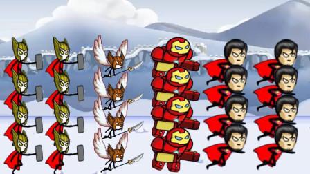 火柴人战争:英雄部队遇到了强敌,结果是怎样的?