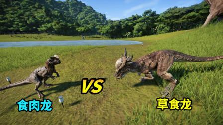 侏罗纪世界10:第一只冥河龙诞生,长相奇特,还能单挑食肉龙