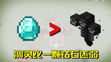我的世界Mod:世界上最丢人的凋灵!居然会被这样的道具给砸死!