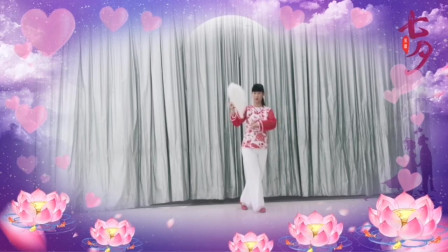 点击观看《靖港笑笑广场舞《三笑》扇子舞》