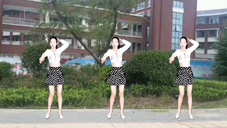 点击观看《动感32步广场舞夏天里的一把火 驿城微笑广场舞》