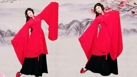 雨葵广场舞《礼仪之邦》古典汉服走秀,实在是太美
