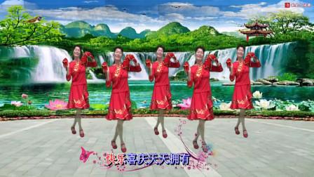 点击观看深圳山茶广场舞《鸿运当头》原创编舞附教学舞曲视频