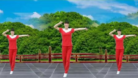 点击观看《简单零基础《东北汉子》抖肩摆胯健身舞》