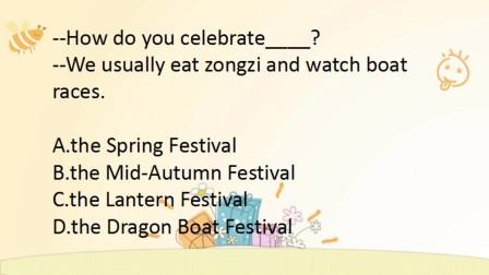 初中英语,中秋节快到了,1道题快速学会中国传统节日的英文名称