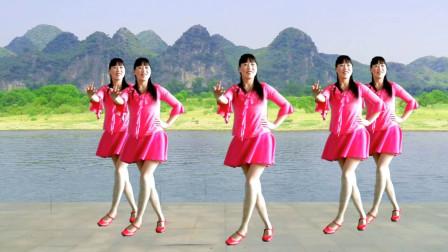 初级入门广场舞《走进我的心房》优美旋律,舞姿优美,优雅大方!