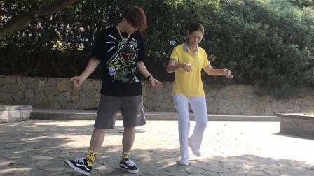 鬼步舞经典小花式教学 简单几步花3分钟轻松学会