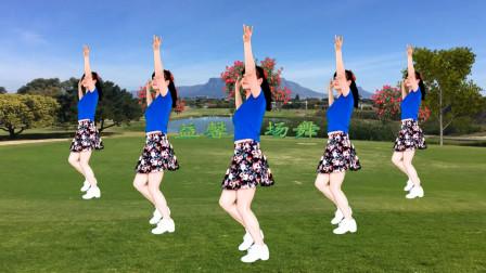 点击观看《初学32步大众健身舞视频大全 益馨广场舞教程分解又是一年月儿圆》