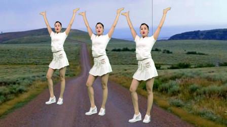 中年妇女健身舞蹈视频 青青世界广场舞一生不变