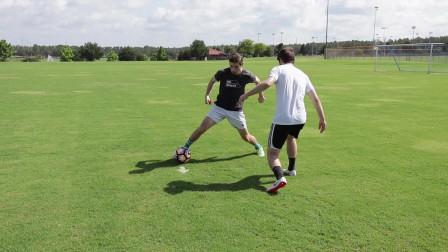十五个实战实用足球过人技巧,足球场上畅通无阻。