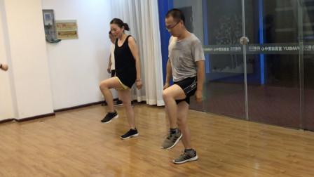 夫妻鬼步舞教学 基本功奔跑步练习分解