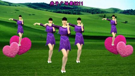 简单广场舞教学视频《一定要爱你》 燕子广场舞5211教程分解