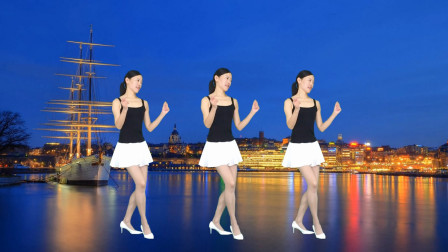 广场舞初级入门32步激动的心颤抖的手 新生代广场舞
