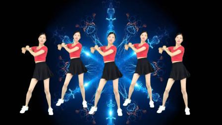 广场舞《眉飞色舞》热情动感瘦身健身操!