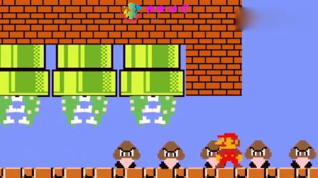超级玛丽:蘑菇们改邪归正,它们帮助马里奥引走了食人花