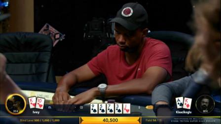 德州扑克:传奇扑克精彩集锦,看大神Ivey如何精准读牌操作