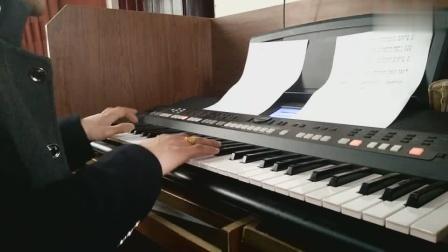 牛人电子琴边弹边唱刀郎的歌曲《冲动的惩罚》经典老歌,好听