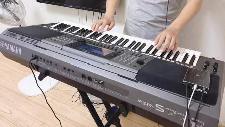 电子琴演奏《上海滩》,经典老歌,百听不厌的歌曲,婉转动听