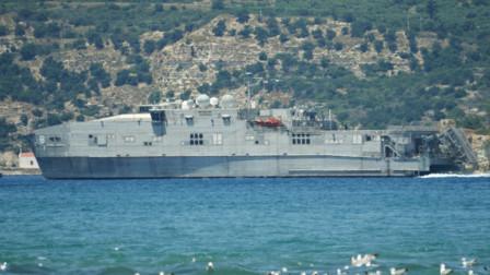 美舰长驱直入逼近沿海,遭多艘军舰围堵,美国呼吁保持克制