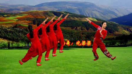 点击观看《小慧广场舞《圪梁梁》广场舞课堂零基础教学第二课》