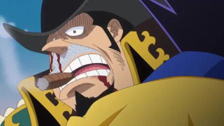 海贼王:凯撒看到卡塔库栗无奈了,威慑力太强