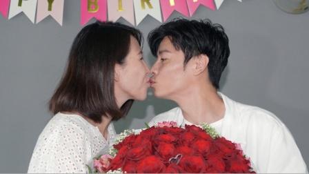 港台:蔡少芬宣布封肚 爱与张晋耍花枪当众接吻