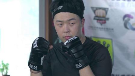 搏击玫瑰手把手教学,杜海涛态度不端正被单练