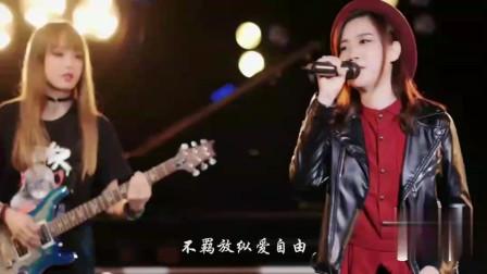 廣州美女唱最經典的歌曲致敬傳奇