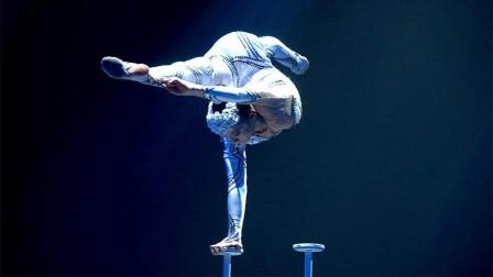 一个从小练杂技的13岁演员,究竟可以做出多惊人的动作?