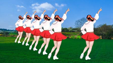 益馨广场舞《九妹》经典的老歌,嗨嗨的节奏