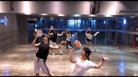 镜面练习版中国风爵士舞《芒种》
