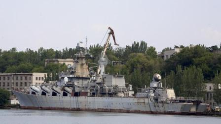 终于摆脱负担了,乌克兰要出售万吨巡洋舰,只有拆船厂感兴趣
