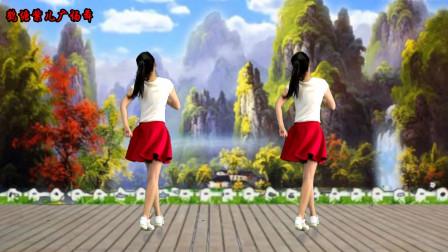 点击观看《鹤塘紫儿广场舞厉害了我的国 舞蹈背面演示》