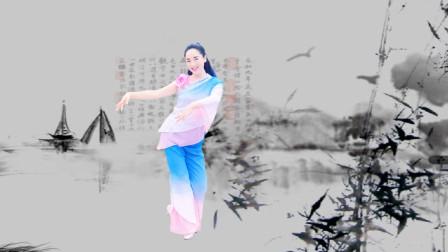 点击观看水灵儿妹妹《那年烟雨》教学古典舞正面教学视频