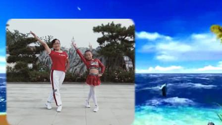 济南春玲广场舞《多年以后》原创附正背面教学现代舞教学