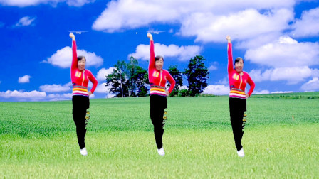 点击观看《迎国庆广场舞大赛《厉害了我的国》阿采中老年比赛视频》