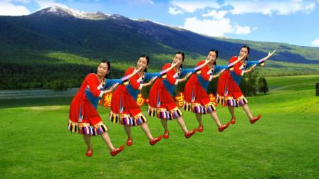点击观看《小慧广场舞《吉祥欢歌》藏族舞教程分解》